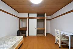 専有部の様子2。全室、収納付きです。(101号室)(2017-05-22,専有部,ROOM,1F)