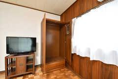 収納の様子。(102号室)(2017-05-22,専有部,ROOM,1F)