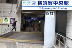京急線・横須賀中央駅の様子。(2019-10-10,共用部,ENVIRONMENT,1F)