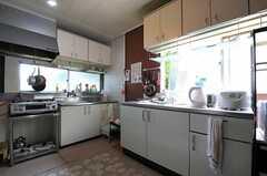 キッチンの様子3。(2012-04-24,共用部,KITCHEN,1F)