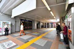 京急本線・汐入駅の様子。(2019-07-17,共用部,ENVIRONMENT,1F)