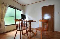 シェアハウスのリビングの様子2。(2011-05-09,共用部,LIVINGROOM,1F)