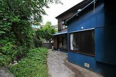 庭の様子。(2011-05-09,共用部,OTHER,1F)