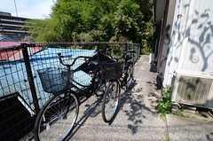共用の自転車が用意されています。(2015-09-29,共用部,GARAGE,1F)
