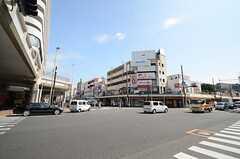 京浜急行・追浜駅前の様子。(2015-09-29,共用部,ENVIRONMENT,1F)