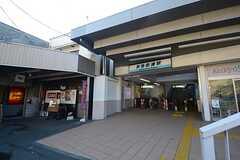 京急本線・京急田浦駅の様子。(2014-12-08,共用部,ENVIRONMENT,1F)
