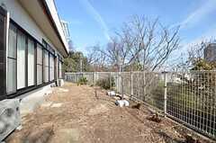 庭の様子2。(2015-02-16,共用部,OTHER,1F)