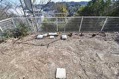 庭に直接出られます。(101号室)(2015-02-16,専有部,ROOM,1F)