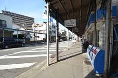 京急本線・逸見駅からシェアハウスに向かう道の様子。(2015-02-16,共用部,ENVIRONMENT,1F)
