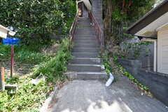 シェアハウスは階段の先です。(2018-04-16,共用部,OTHER,1F)