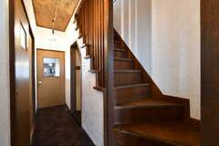 階段の様子。(2018-04-16,共用部,OTHER,1F)