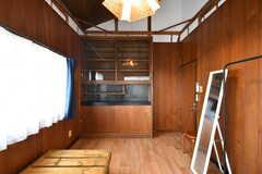 飾り棚が設置されています。(201号室)(2021-06-11,専有部,ROOM,2F)