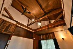 天井の様子。(203号室)(2021-06-11,専有部,ROOM,2F)