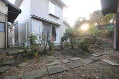 中庭の様子。(2013-11-26,共用部,OTHER,1F)