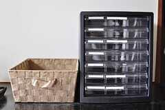 郵便物は、靴箱の上にあるボックスに部屋ごと仕分けられます。(2012-05-29,周辺環境,ENTRANCE,1F)