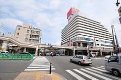 京浜急行・追浜駅前の様子。(2012-05-29,共用部,ENVIRONMENT,1F)