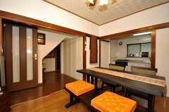 シェアハウスのラウンジの様子3。(2009-12-18,共用部,LIVINGROOM,1F)