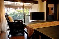 シェアハウスのラウンジの様子4。(2009-12-18,共用部,LIVINGROOM,1F)