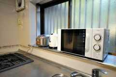 キッチン家電の様子。(2009-12-18,共用部,KITCHEN,1F)