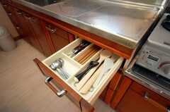キッチン備品の様子。(2008-12-12,共用部,OTHER,1F)