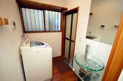 脱衣室の様子。(2008-12-12,共用部,LAUNDRY,1F)