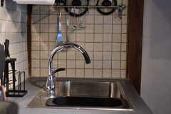 水栓の様子。(2021-01-07,共用部,KITCHEN,1F)