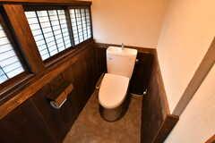 ウォシュレット付きトイレの様子。(2021-01-07,共用部,TOILET,1F)