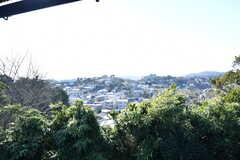 窓からの景色。(2021-01-07,専有部,ROOM,2F)