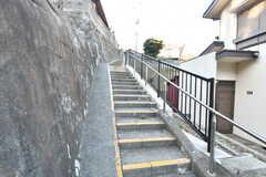 シェアハウス周辺は階段が多いです。(2021-01-07,共用部,ENVIRONMENT,1F)