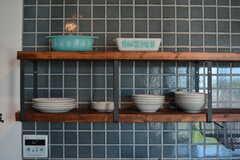 食器は棚に並んでいます。(2020-06-26,共用部,KITCHEN,1F)
