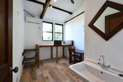 専有部の様子。全室洗面台付きです。(101号室)(2020-06-26,専有部,ROOM,1F)