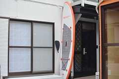 入居者さんはSUP(スタンド・アップ・パドルボード)が使えます。3mほどある大きなタイプです。(2015-06-09,周辺環境,ENTRANCE,1F)