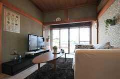 リビングに共用TVがあります。(2012-05-29,共用部,LIVINGROOM,1F)