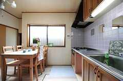 キッチンの様子。(2012-05-29,共用部,KITCHEN,1F)