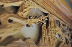 欄間には松のような装飾。(101号室)(2012-05-29,専有部,ROOM,1F)