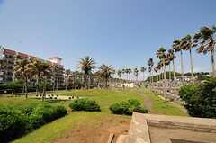 海沿いには公園もあります。(2012-05-29,共用部,ENVIRONMENT,1F)