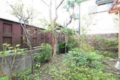 庭の様子。(2016-10-25,共用部,OTHER,1F)