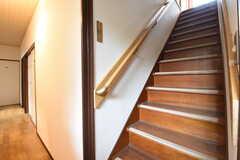 階段の様子。(2016-10-25,共用部,OTHER,1F)