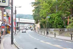 京急逗子線・新逗子駅周辺の様子。(2016-10-25,共用部,ENVIRONMENT,2F)