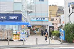 京急逗子線・新逗子駅の様子。(2016-10-25,共用部,ENVIRONMENT,1F)