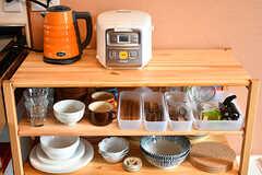 食器やカトラリーの様子。(2016-10-12,共用部,KITCHEN,4F)