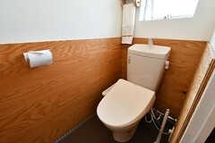 ウォシュレット付きトイレの様子。(2016-10-12,共用部,TOILET,4F)