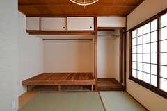 専有部の様子2。収納には目隠しが付いています。(402号室)(2016-10-12,専有部,ROOM,4F)