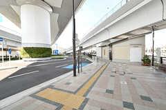 阪急京都線・西山天王山駅前の様子。(2016-10-12,共用部,ENVIRONMENT,1F)