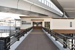 阪急京都線・西山天王山駅の様子。(2016-10-12,共用部,ENVIRONMENT,1F)