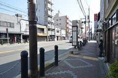 最寄りのバス停。(2015-03-17,共用部,ENVIRONMENT,1F)
