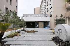 HOTEL ANTEROOMのエントランス。レジデンス部分には専用の玄関もあります。(2011-04-09,周辺環境,ENTRANCE,1F)