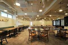 レストランの様子2。(2011-04-09,共用部,OTHER,1F)