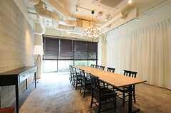レストランの様子6。グループでも利用可能。(2011-04-09,共用部,OTHER,1F)