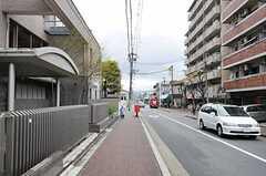 京都市営地下鉄烏丸線九条駅からANTEROOMに向かう道の様子。(2011-04-09,共用部,ENVIRONMENT,1F)